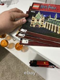 Lego #4842 Harry Potter Poudlard Château 99,9% Complet Avec Instructions
