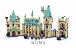 Lego 4842 Harry Potter Poudlard Château Complet Avecinstructions, Minifigs, No Box