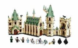 Lego 4842 Harry Potter Poudlard Château Retiré Complet Avec Box & Figurines Mini