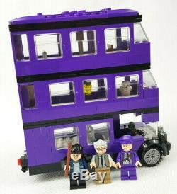 Lego 4866 Harry Potter The Knight Bus Ensemble Retraité Rare 100% Complet Sans Boîte