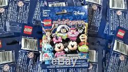 Lego 71012 Disney Série 1 Minifigures Ensemble Complet De 18 Packs Ouverts Scellés