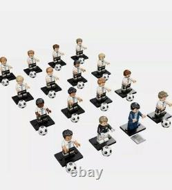 Lego 71014 Dfb Mannschaft Germany Football Team Ensemble Complet 16 Minifigures Cmf