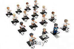 Lego 71014 Mini-chiffres Dfb Allemagne Équipe De Football Ensemble Complet De 16 Livraison Gratuite