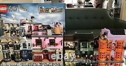 Lego 75978 Harry Potter Diagon Alley Ensemble Complet Avec Manuels Et Boîte Originale