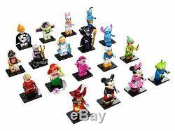 Lego Cmf Minifigures 71012 Disney Série 1 Ensemble Complet De 18 (nouveau, 2016)