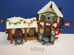 Lego Complet 10245 Createur Expert Atelier Santa's Workshop Set Xmas Minifigure Boxed