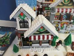 Lego Complet 10249 Createur Expert Winter Toy Shop Set Xmas Minifigure Boxed