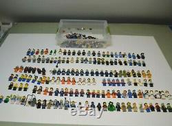 Lego Énorme Lot De 170+ Minifigures Ville, Château, Complete Figures + Accessoires