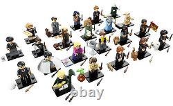 Lego Harry Minifigurines Série Potter 1 Ensemble Complet Non Ouvert Nouvelle Usine Scellée