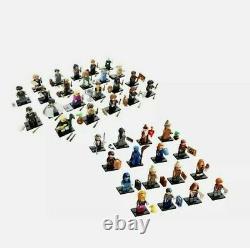 Lego Harry Potter 1 & 2 Minifigures Série 71022 71028 Ensemble Complet De 38