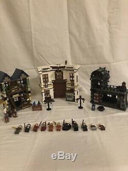Lego Harry Potter 10217 Allée Diagon Complètement Original / Pré-construit