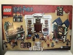 Lego Harry Potter # 10217 Alley Complète Diagon Set Withminifigures & Livres