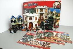 Lego Harry Potter 10217 Diagon Alley 100% Avec Des Instructions
