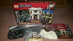 Lego Harry Potter 10217 Diagon Alley 100% Complet Avec Instructions Et La Boîte