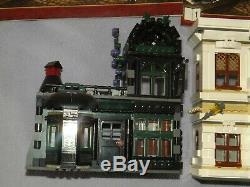 Lego Harry Potter 10217 Diagon Alley 100% Complet Avec Minifigs Désolé Aucune Boîte