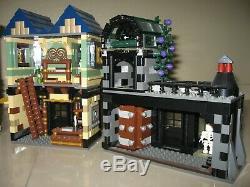 Lego Harry Potter 10217 Diagon Alley Complet Avec Boutique Supplémentaire Barjow Burkes