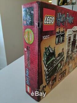 Lego Harry Potter 10217 Diagon Alley Complet Avec La Boîte, Instructions Minifigs