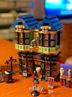 Lego Harry Potter 10217 Diagon Alley Set + Instructions Complète