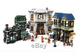 Lego Harry Potter 10217 Diagon Alley -complete Set, Box Inclus