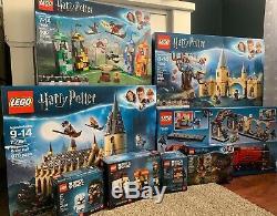 Lego Harry Potter 2018 Complete Set Nouveau Dans Des Boîtes Scellées Bookstore