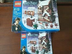Lego Harry Potter 4756 Shrieking Shack 100% Complet Avec Des Instructions Et Boîte