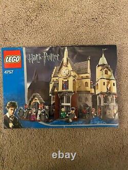 Lego Harry Potter (4757) Château De Poudlard (2004) 100% Complet Avec Instructions