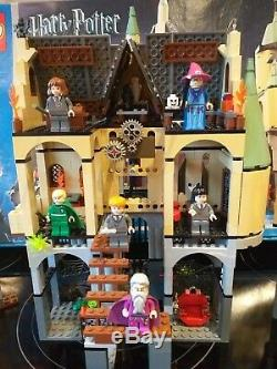 Lego Harry Potter 4757 Château De Poudlard 2e Éd. 100% Zone Des Instructions Complètes