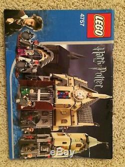 Lego Harry Potter 4757 Prisonnier Château De Poudlard D'azkaban 98% Complet Avec Livre