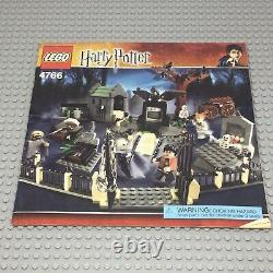 Lego Harry Potter 4766 Graveyard Duel Set W Minifigures Instructions Complete