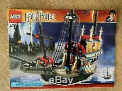 Lego Harry Potter 4768 Le Durmstrang Navire Ensemble Complet Avec Des Instructions