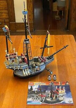 Lego Harry Potter 4768 Le Navire Durmstrang 100% Complet