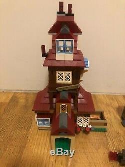Lego Harry Potter 4840 Le Burrow 100% Complet. Tous Minifigs Et Pig