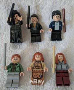 Lego Harry Potter 4840 The Burrow 100% Complet Avec Toutes Les Figurines