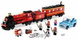 Lego Harry Potter 4841 Poudlard Express Train 100% Complete Avec La Boîte Minifigures