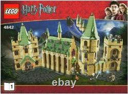 Lego Harry Potter 4842 Château De Hogwarts 100% Complet Avec Les Instructions
