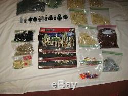 Lego Harry Potter 4842 Château De Poudlard 100% Ensemble Complet Avec Manuels, No Box