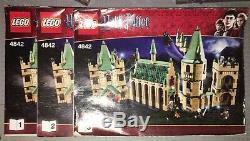 Lego Harry Potter 4842 Château De Poudlard Ensemble Complet Avec Manuels Figurines