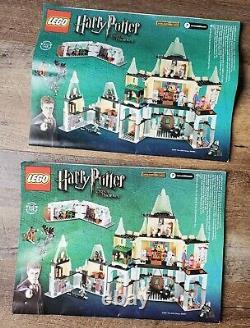 Lego Harry Potter 5378 Château De Hogwarts 100% Complet, Boîte Ouverte, Packs Scellés