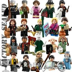 Lego Harry Potter 71022 Bricktober Minifigures Ensemble Complet De 20 5005254 Scellés