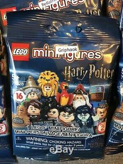 Lego Harry Potter 71028 Série 2 Minifigures Ensemble Complet De 16 Sealed Navires Maintenant
