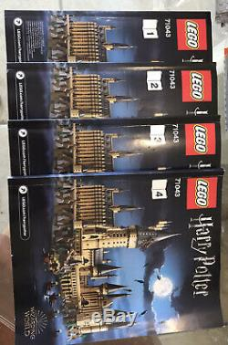 Lego Harry Potter 71043 Château De Poudlard Set 100% Complete Mint Condition Rare