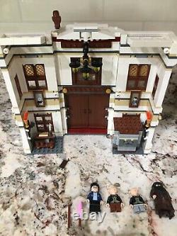 Lego Harry Potter Alley (10217 Chemin), Complète W Minifigs, Instructions & Box
