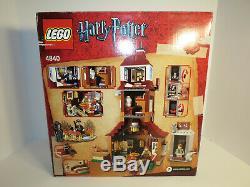 Lego Harry Potter Burrow 100% Complet 4840 Avec Instructions Et Boîte Originale