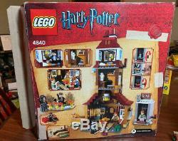 Lego Harry Potter Burrow (# 4840) 100% Avec Les Instructions Et La Boîte