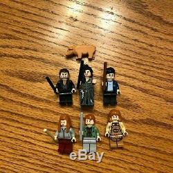 Lego Harry Potter Burrow (4840) 100% Complet Avec Boîte Et Instructions
