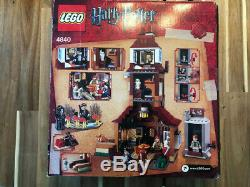 Lego Harry Potter Burrow (4840) -iob Des Sacs Scellés Ensemble Complet