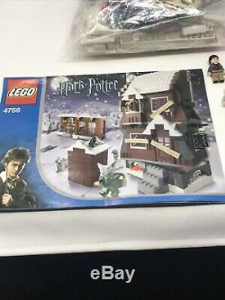 Lego Harry Potter Cabane Hurlante 4756- 100% Complet! Rare Retraite Set