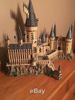 Lego Harry Potter Castle 71043 Complet 6020 Pièces Vierge Appartenant À Des Adultes