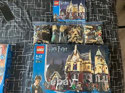 Lego Harry Potter Château De Hogwarts 4757 90% Complet Aucune Figure Mini
