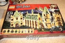Lego Harry Potter Château De Poudlard 100% Complet 4842 Avec Boîte Et Instructions